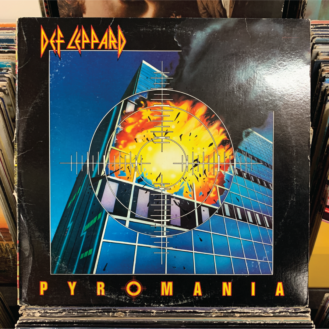 Fun Fact Thomas Dolby Played Keyboards On The Pyromania Album He Is Credited As Booker T Boffin T In 2020 Def Leppard Def Leppard Pyromania Vintage Vinyl Records