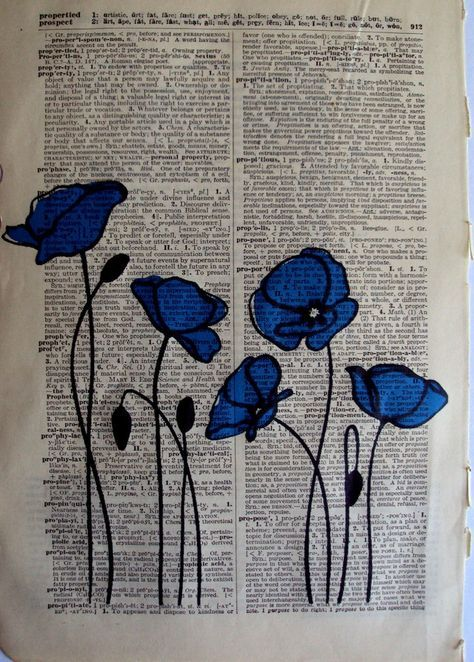 What A Pretty And Fun Bookish Decoration For Summer Http Writersrelief Com Book Page Art Book Art Flower Drawing