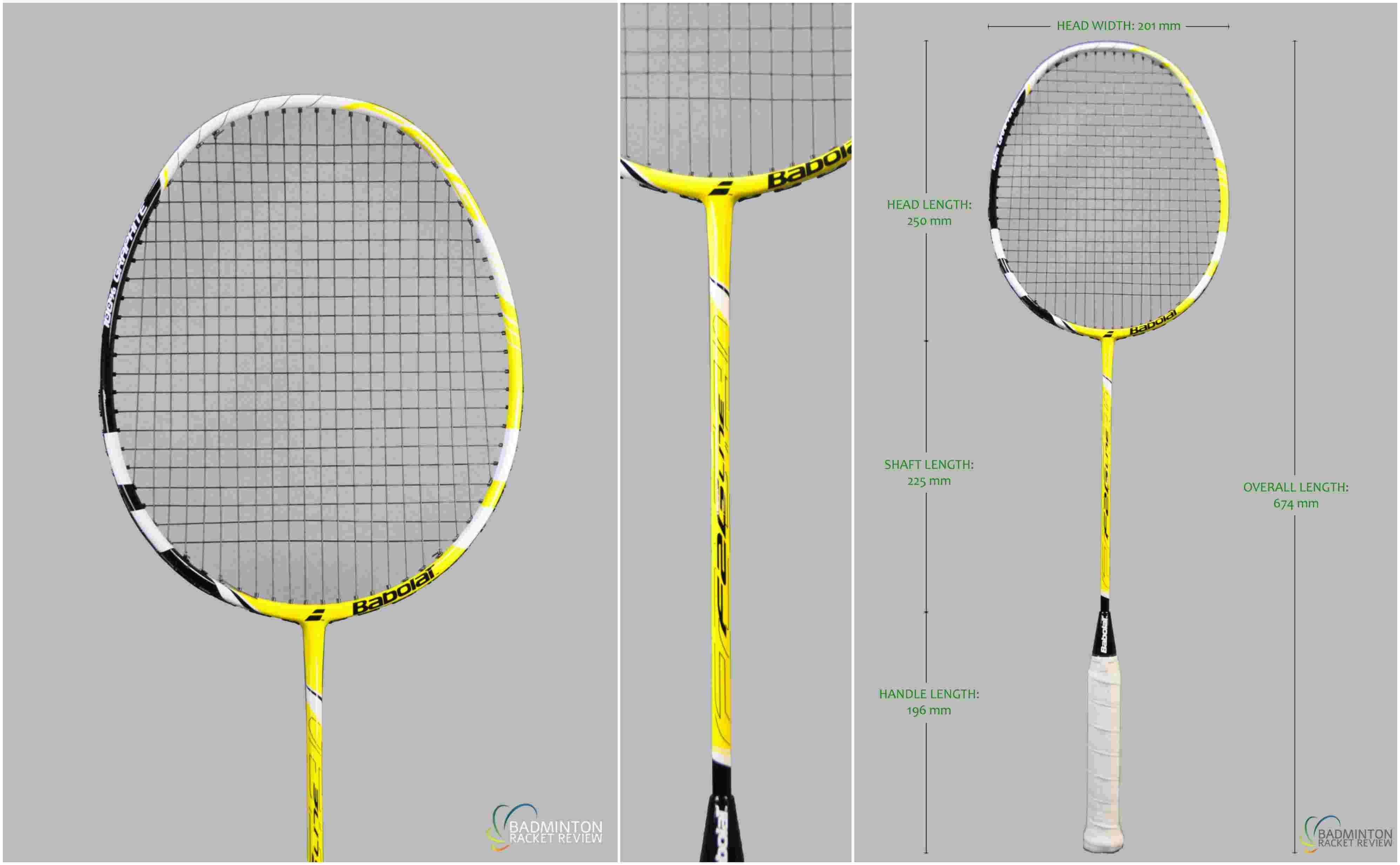 Babolat F2g Lite Badminton Racket Raket Original Lining Ss 99 Plus