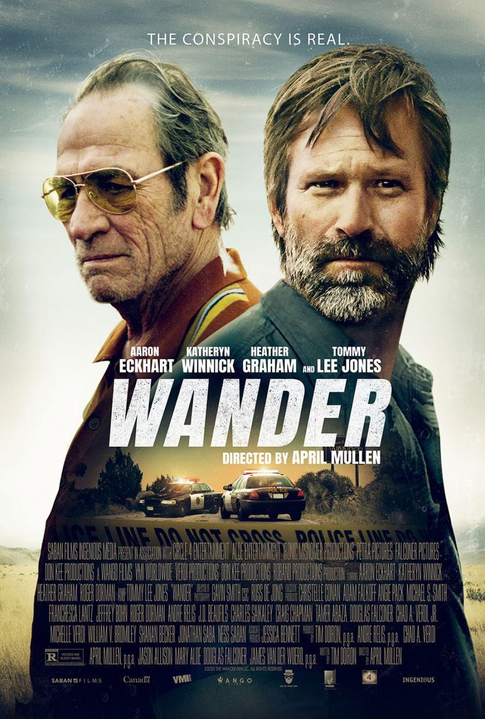 Wander Trailer 2020 In 2020 Tommy Lee Jones Movie Releases Tommy Lee