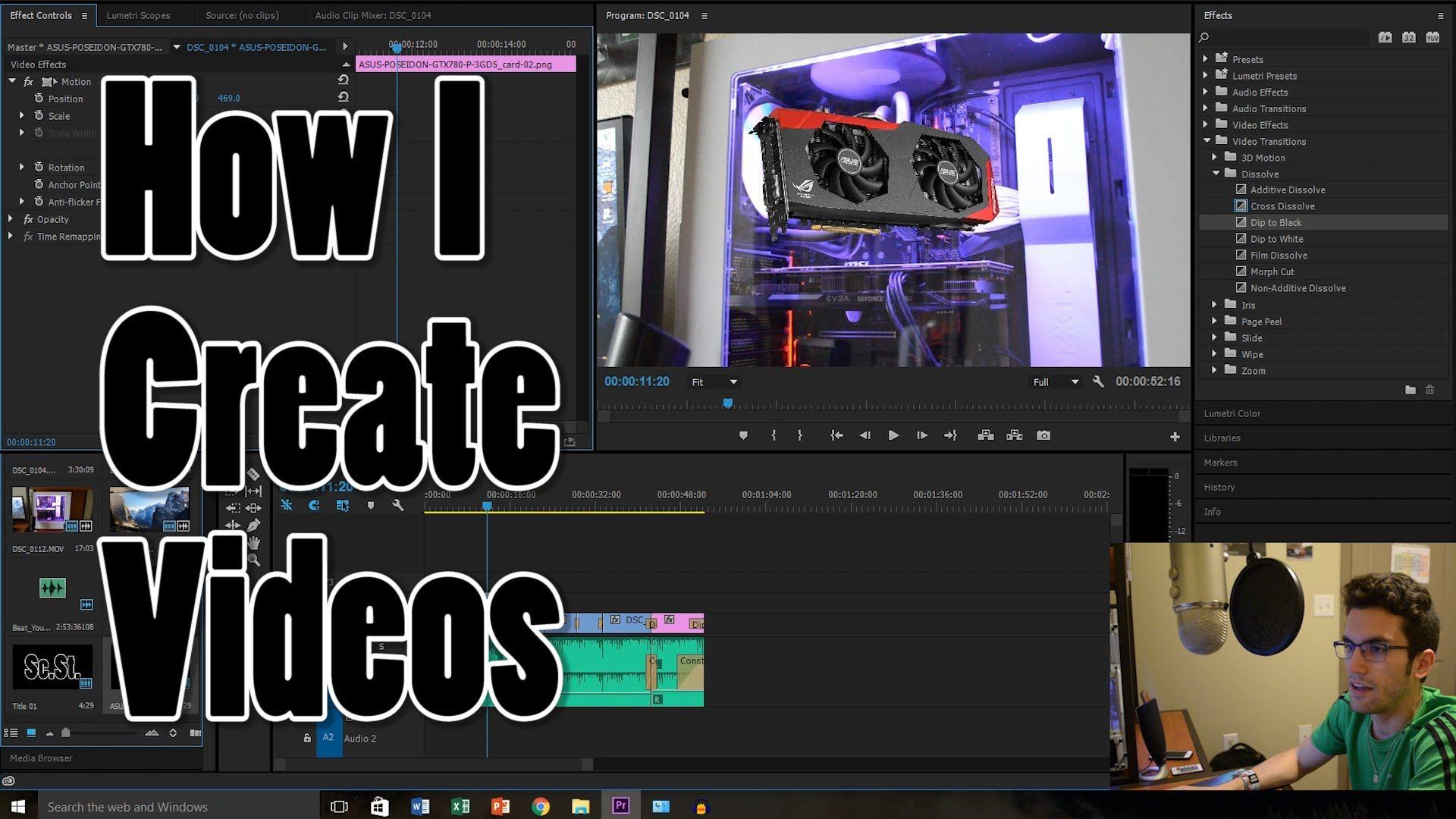 My Editing Workflow (Adobe Premiere Pro Tutorial