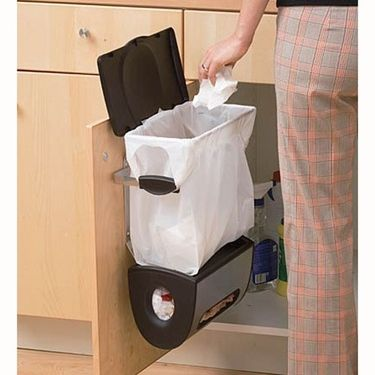 Recycle Hide The Trash Bin And Handle Trash In Small
