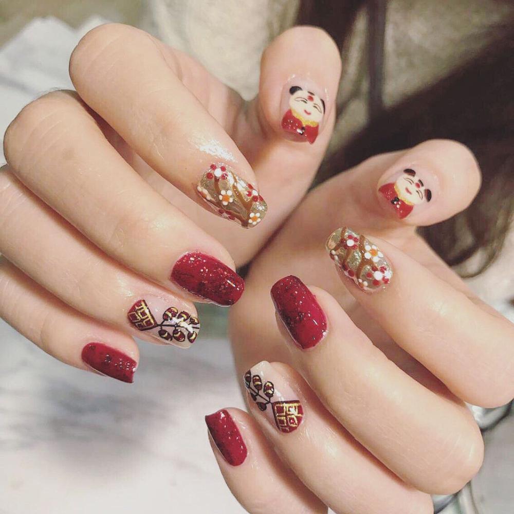 Ghim trên mẫu nail đẹp hiện đại phong cách