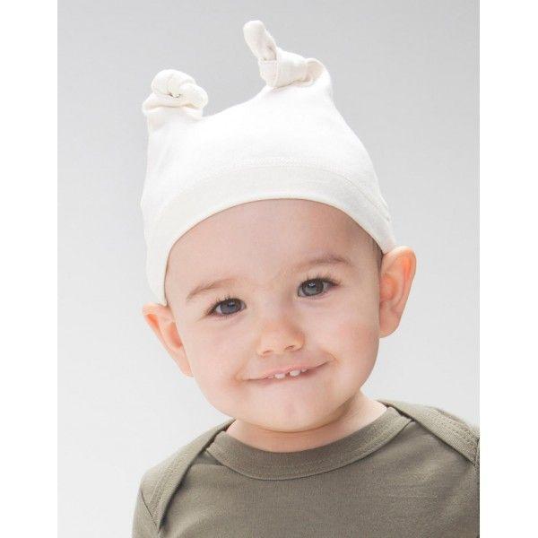 Cappellino neonato in cotone biologico Babybugz