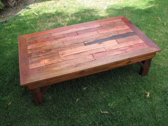 Rustic Coffee Table Made of Pallet Wood Rustic End Tables Rustic