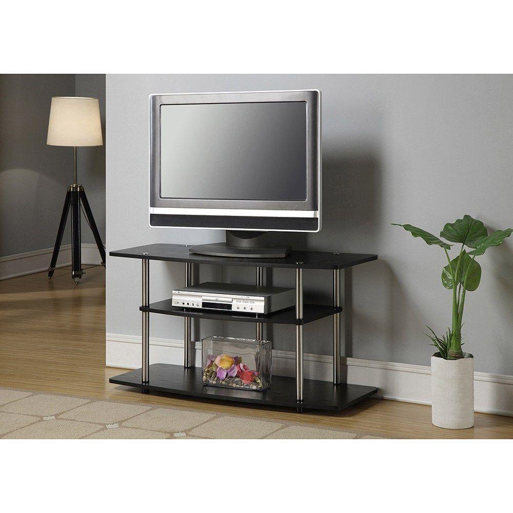 glass and metal tv stand walmartjpg 10001000 - Walmart Entertainment Center Tv Stands