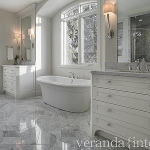 Bathtub Nook Transitional Bathroom Veranda Interiors