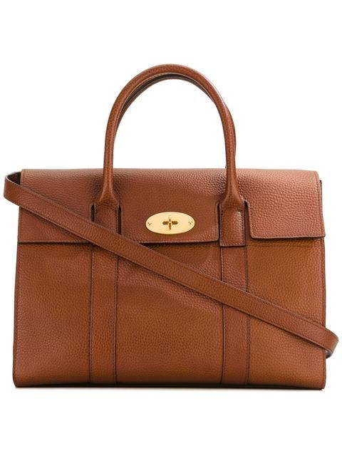 MULBERRY fold-over closure tote.  mulberry  bags  leather  hand bags  tote   7f58d1fcfb97a
