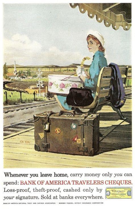 Bank Of America Bank Old Advertising Vintage Ads Vintage Advertisements Bank Of America