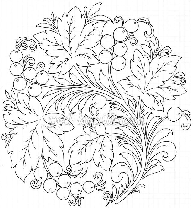 russian folk art coloring pages - photo#13
