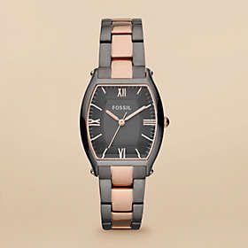 27647dc5232f Two-toned Fossil watch