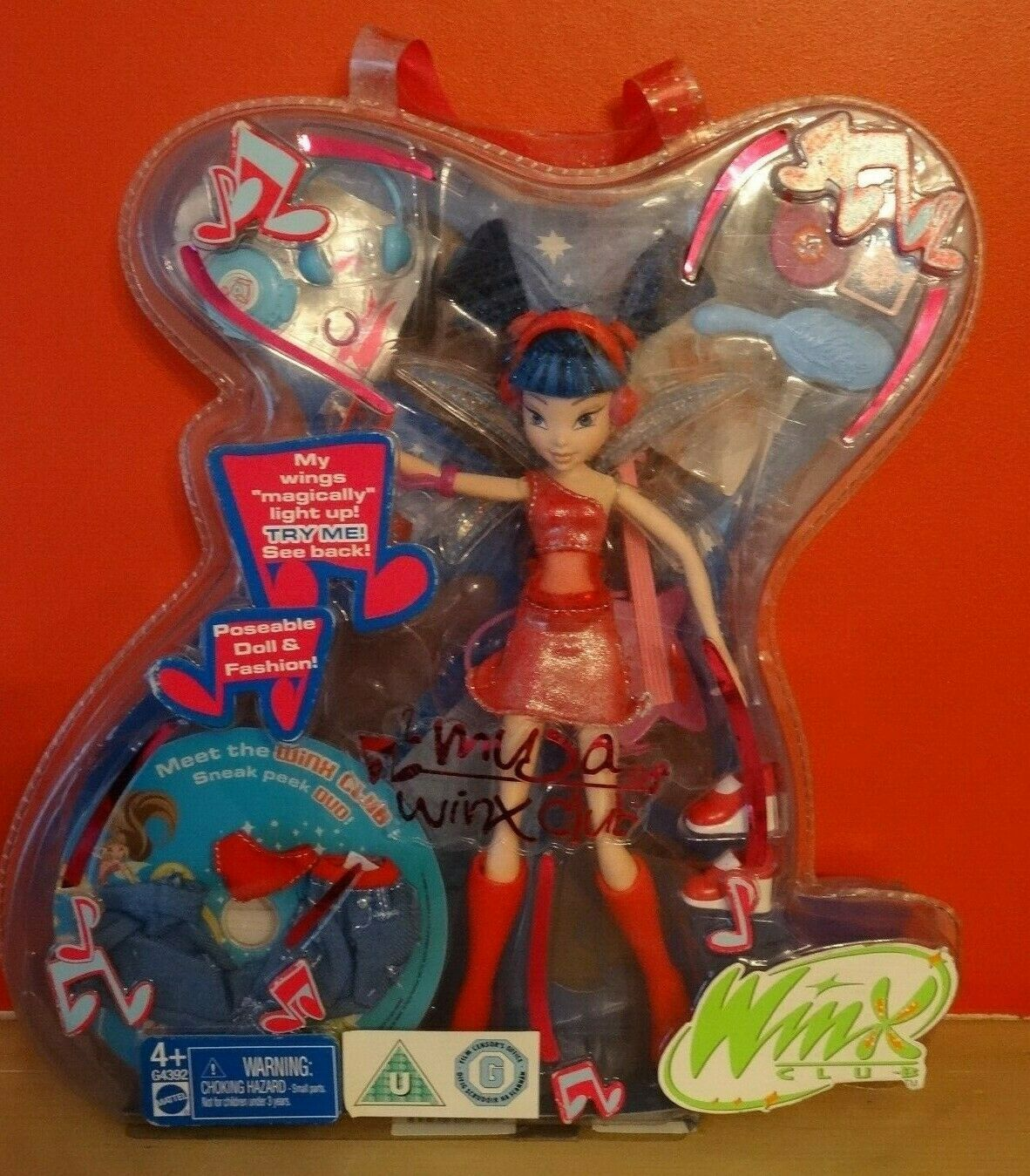 Daphne of Winx Club Special Edition Witty Toys