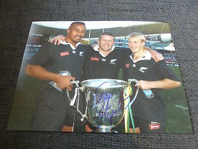 Ad(eBay Link) SEAN FITZPATRICK signed 8x11 autograph RUGBY Photo InPerson 2020 Berlin