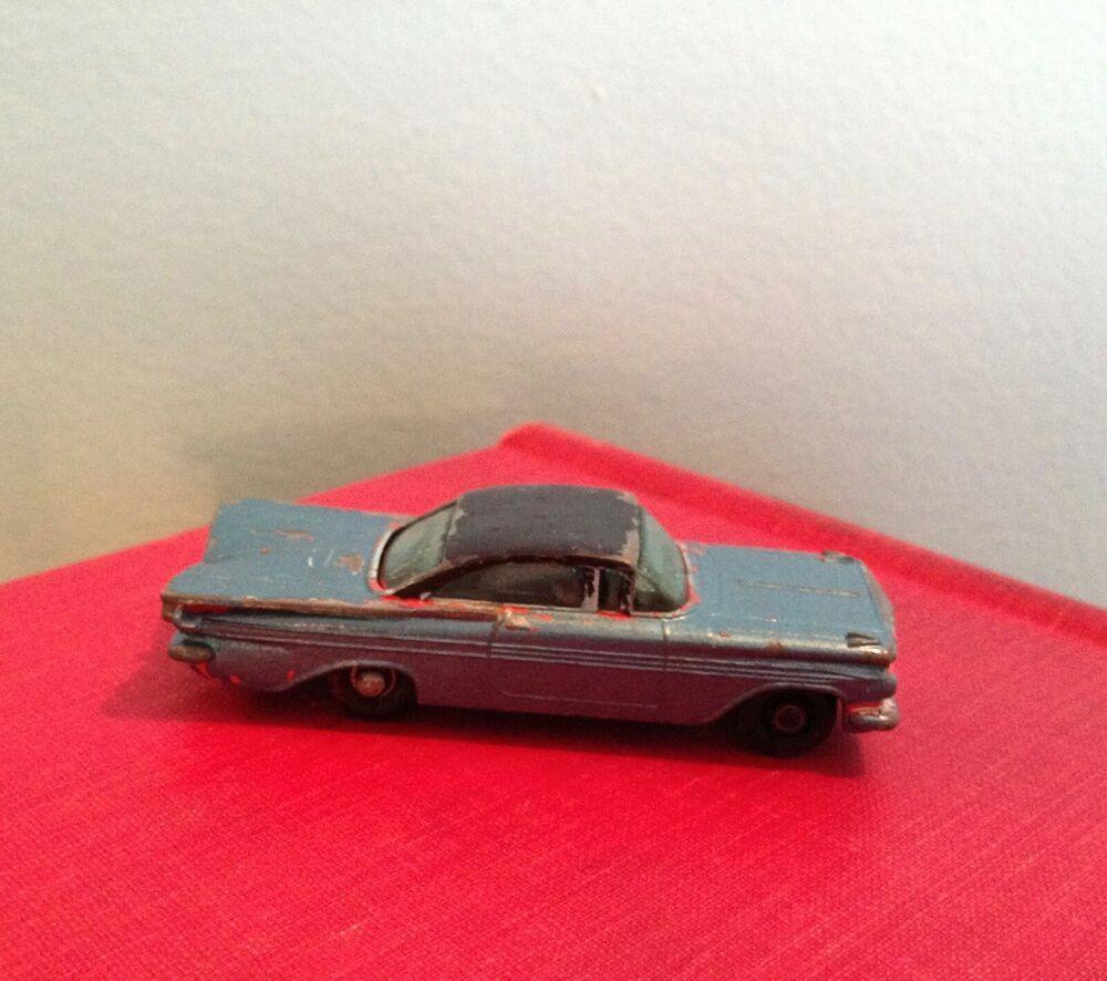 1959 Chevrolet Impala Coupe Matchbox Lesney 57 Made In England 1961 Lesney Chevrolet Chevrolet Impala Tobago Impala