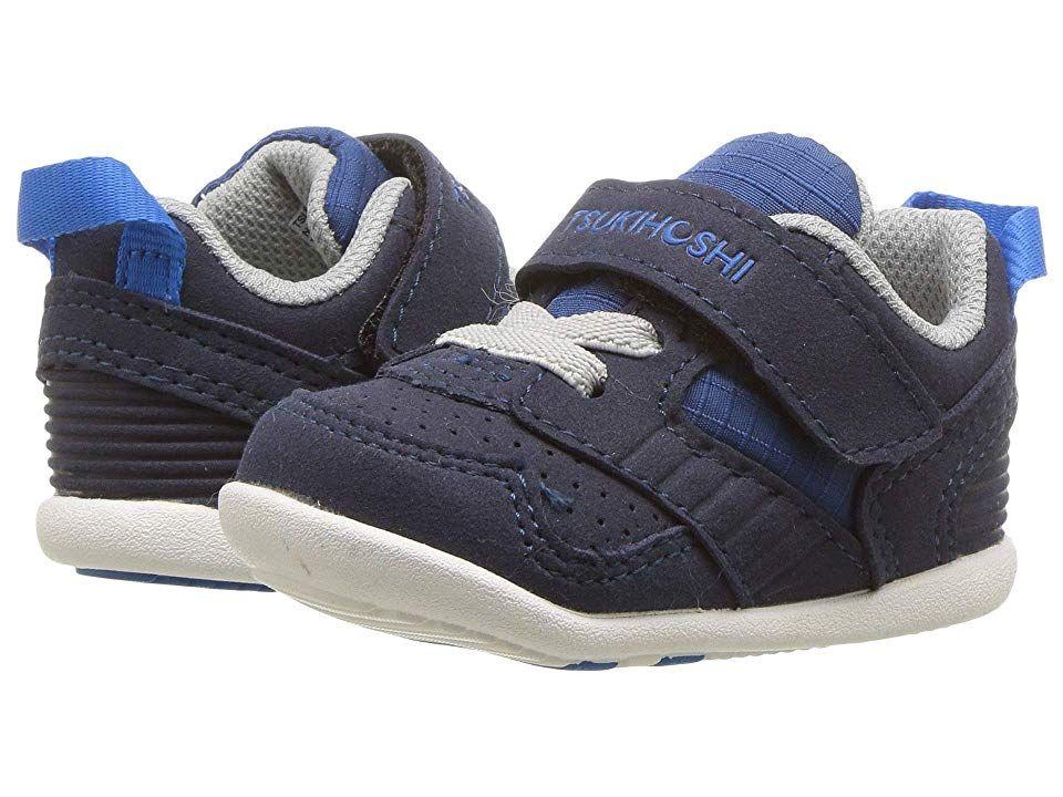 Tsukihoshi Kids Racer Infant Toddler Boys Shoes Navy Blue Toddler Boy Shoes Boys Shoes Toddler