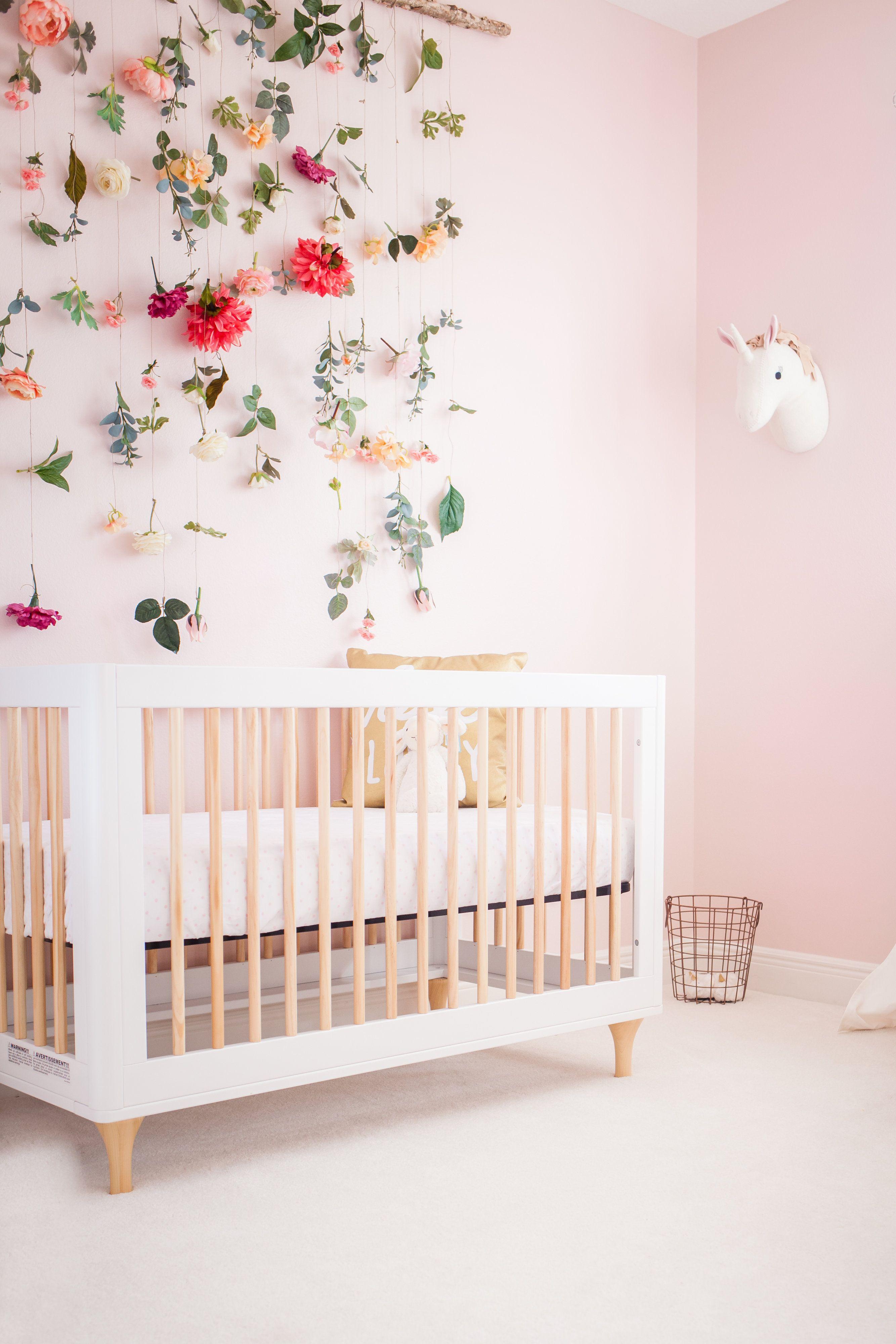 Blush Nursery Decor With Images Kid