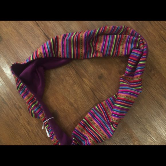Serape Scarf Crazy Train Serape Scarf Brand New with Tags Crazy train Accessories Scarves & Wraps