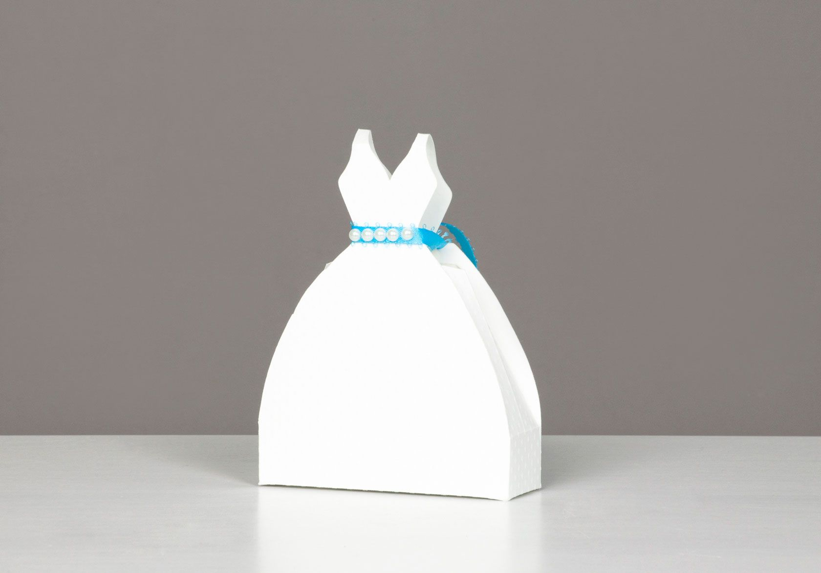 Cricut Wedding Dress Favor Box Diy Cards Wedding Shower