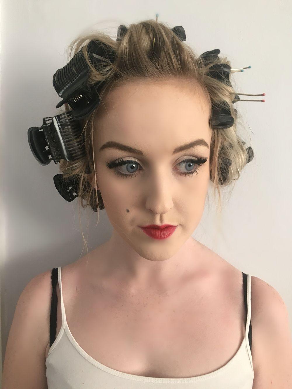 Marilyn Monroe Period Look Theatrical makeup, Makeup