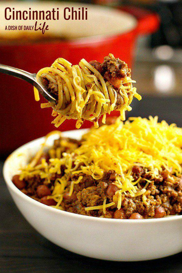 Cincinnati Chili Recipe: Cincinnati Chili