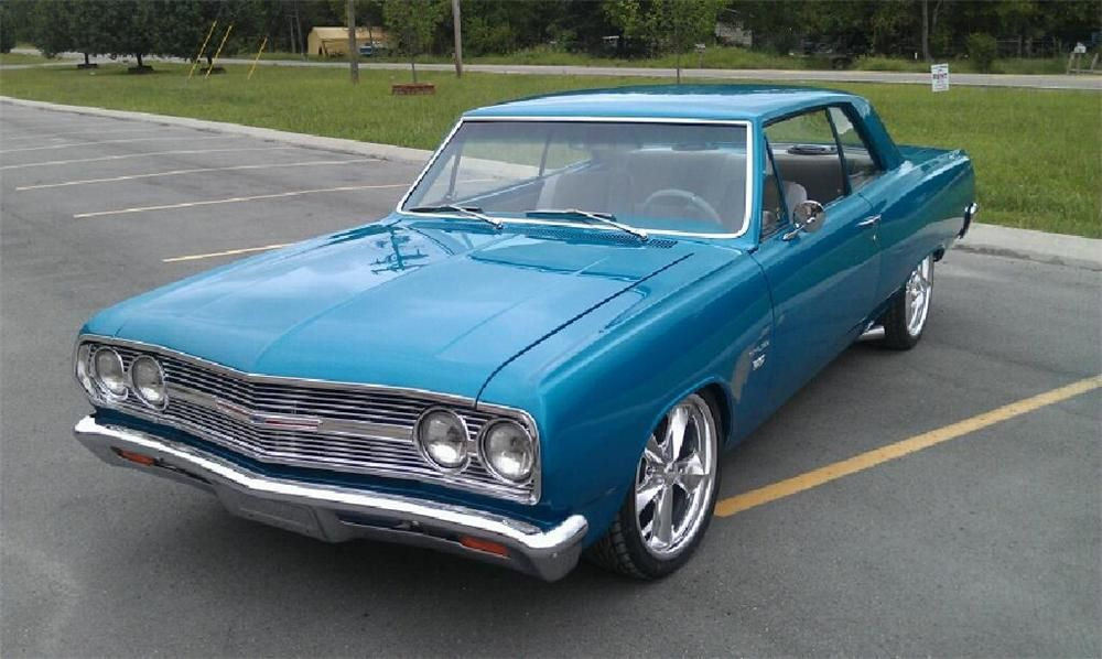 1965 Chevrolet Chevelle Malibu Custom 2 Door Coupe Chevrolet