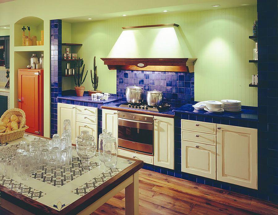 Cucina Muratura Moderna 16 | cucina | Pinterest | Cucina, Gardens ...