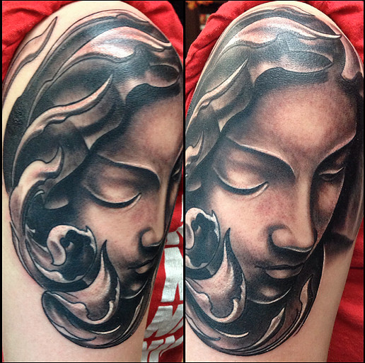 Tattoo by artist and owner Ryan #tattoo #tattooart #tattooartist #inkart #art #bodyart #tattoos #tattooinspiration #tattooideas