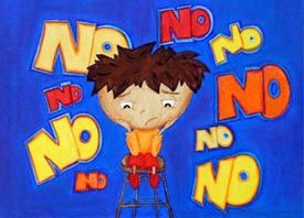 """I Just Don't Like the Sound of NO! - When R.J. hears the word """"No"""" he doesn't like it…at all. He tries to argue and say, """"how about 'Maybe'"""" or """"how about 'I'll think about it.'"""" R.J. would rather hear just about anything other than """"NO!""""    Learn how he overcomes his problems with the word """"no"""" and how you can, too, by joining the """"Say 'Yes!' to 'No' Club.""""    This book also includes a series of helpful tips for parents and educators."""