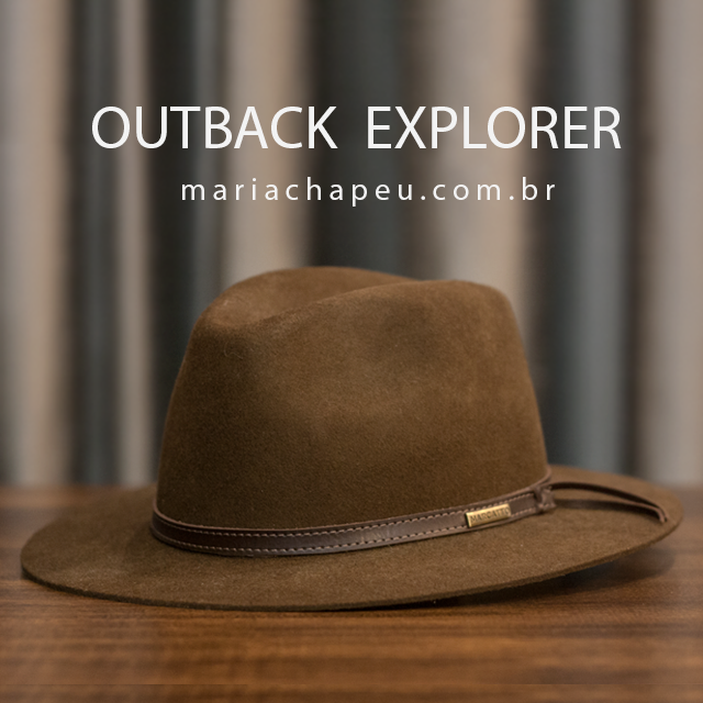 Chapéu Marcatto Outback Explorer Tabaco.  394e74e65cd