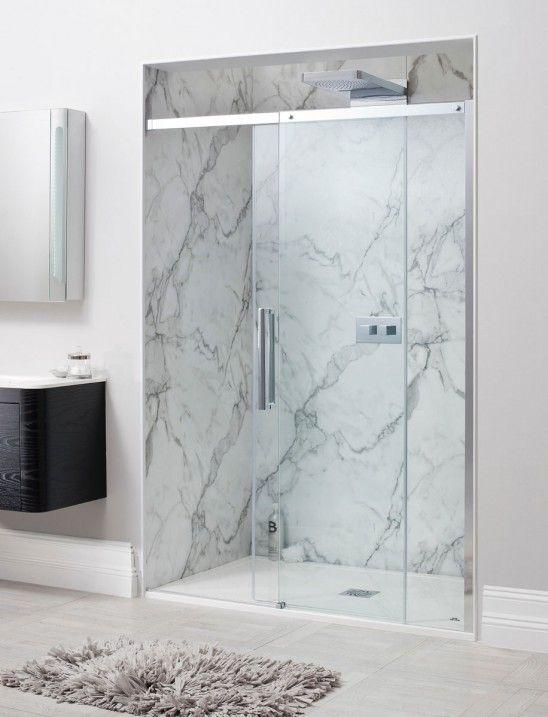 Ten Single Slider Shower Door in Sliding Door   Luxury bathrooms UK ...