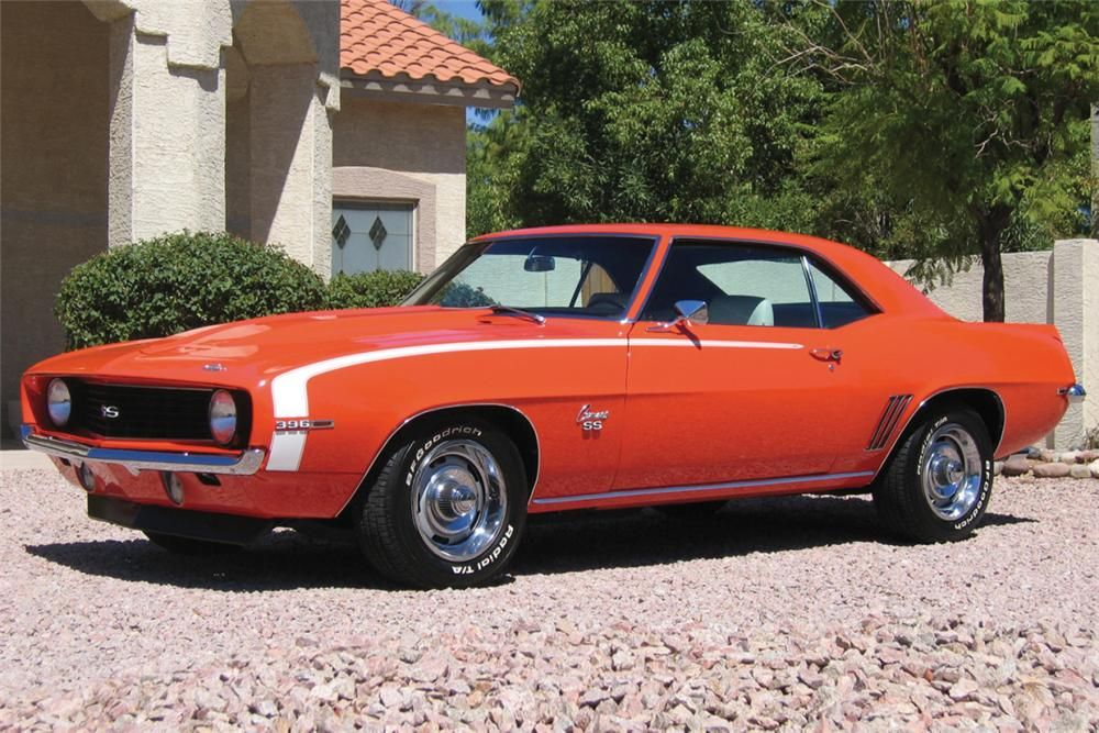 1969 CHEVROLET CAMARO SS 396 COUPE –  – Barrett-Jackson Auction Company – World's Greatest Collector Car Auctions