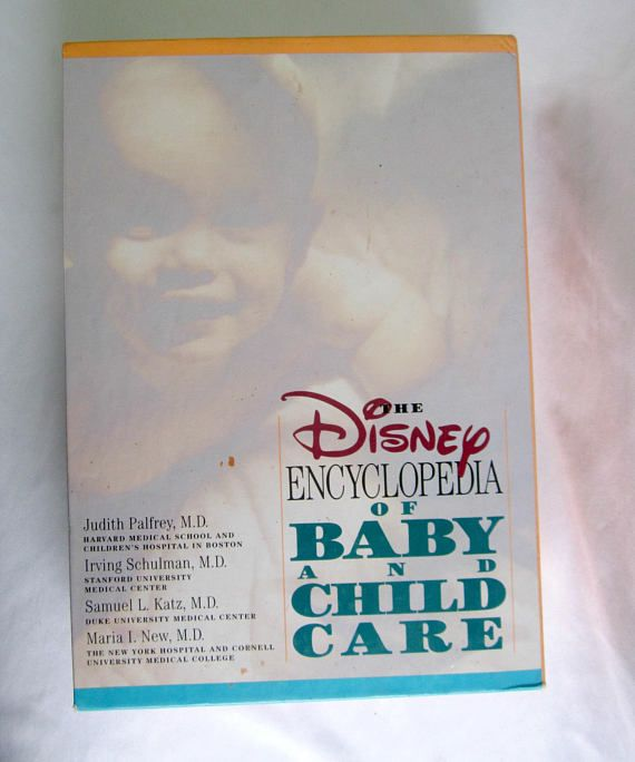 Baby And Child Care Disney Encyclopedia Vol I And Ii Baby