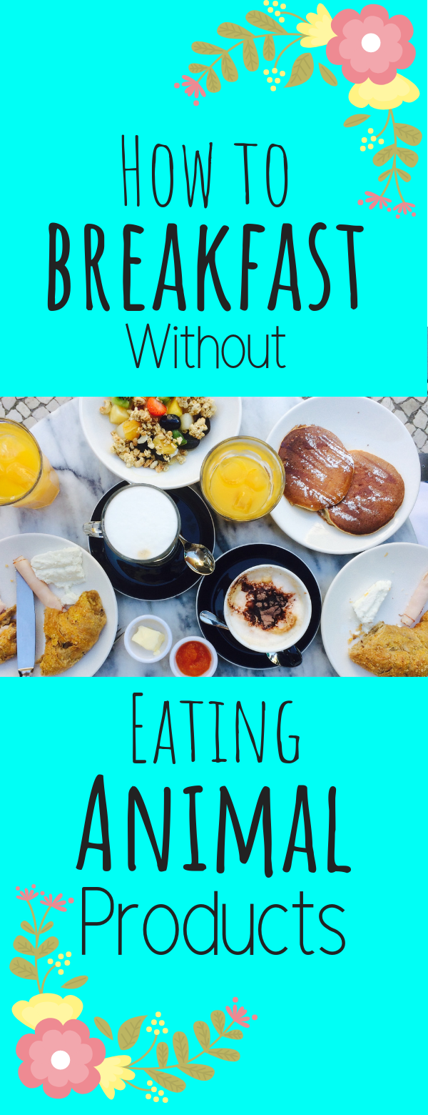 How to Breakfast Without Eating Animal Products (With