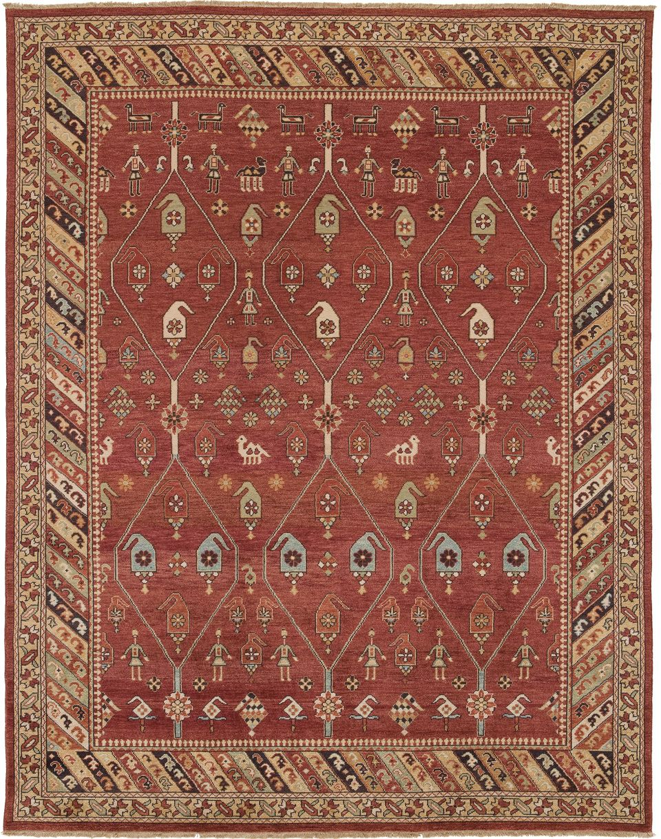 Jinan Rug Offered In Sizes From 4 X 6 To 16 X 28 Along With Long And Wide Runners Purchase From Hemphill S Rugs Carpets Rugs On Carpet Carpet Orange Rugs