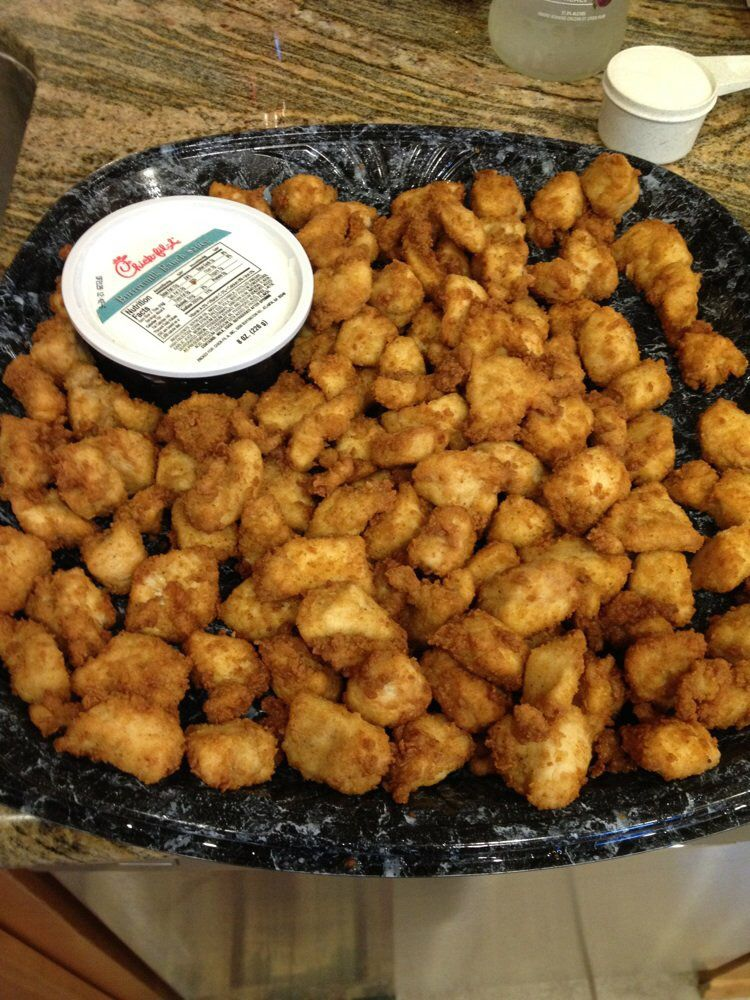 Chick Fil A Nugget Tray Tailgating Food Chick Fil A Nuggets