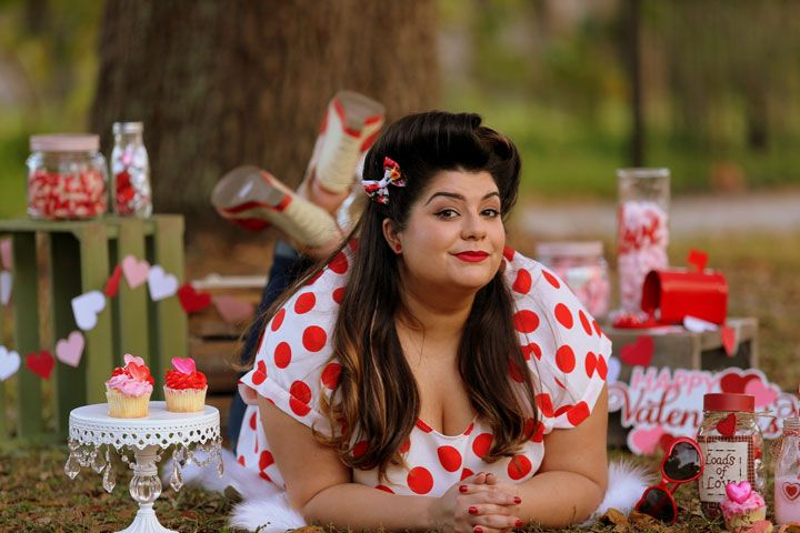 3 Valentine S Day Outfit Ideas For Plus Size Women 1 Plus Size