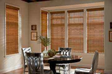 2 inches Elite Wood blinds are traditional window coverings with a lustrous look and elegant touch of natural filigree. There are many fashionable modern window coverings are available, but nothing can substitute the feel of the wood blinds. The 2 inches Elite Wood Blinds from Graber® for your windows with manufacturers' limited lifetime warranty. These Graber® wood blinds are the perfect window treatment because of their durability, looks, style and purity.