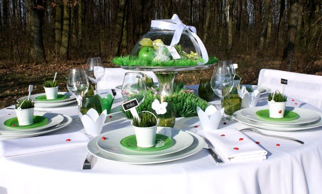 Déco de table | idées mariage | Pinterest | Gardens