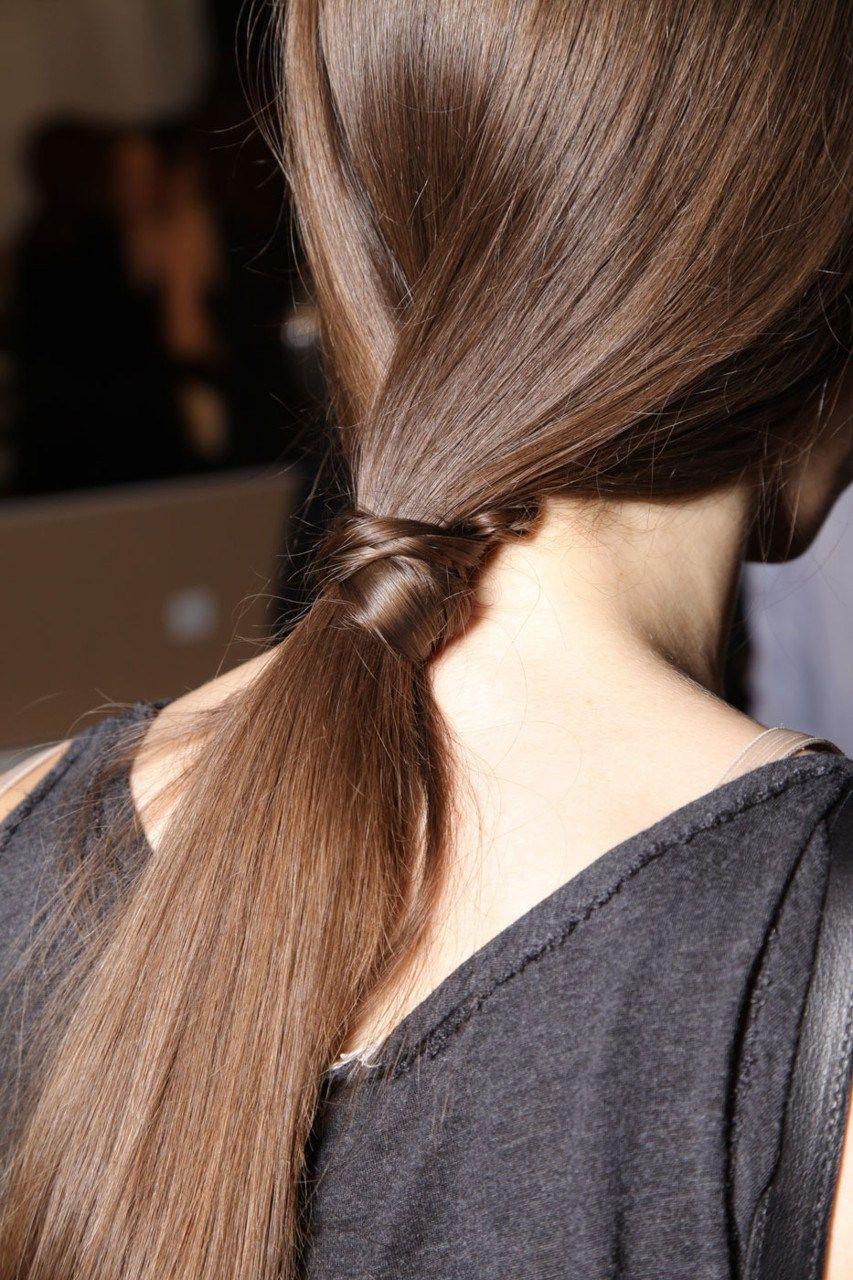 ponytail #brunette   ponytails   long hair styles, hair