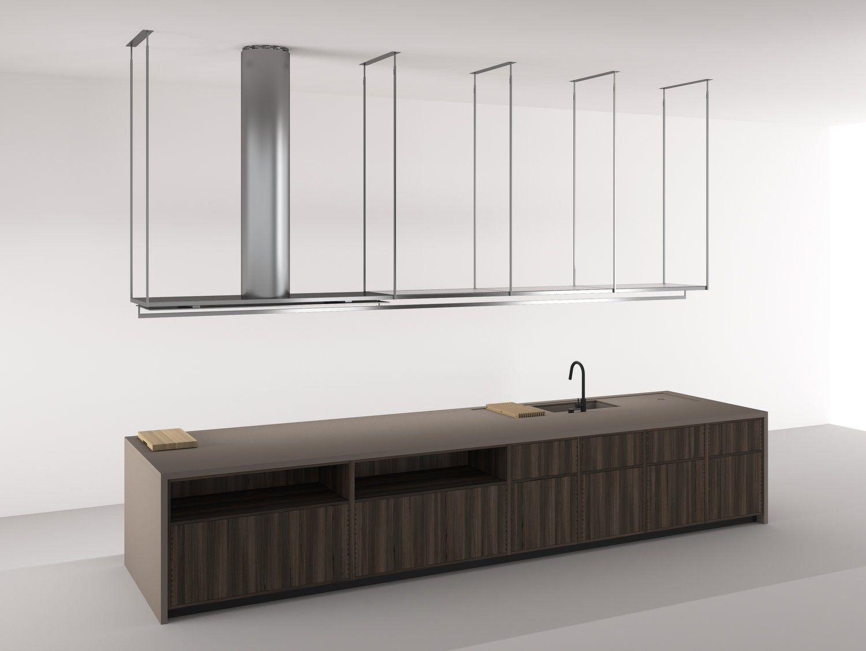 Einbauküche mit Kücheninsel BOFFI_CODE KITCHEN by Boffi Design Piero ...