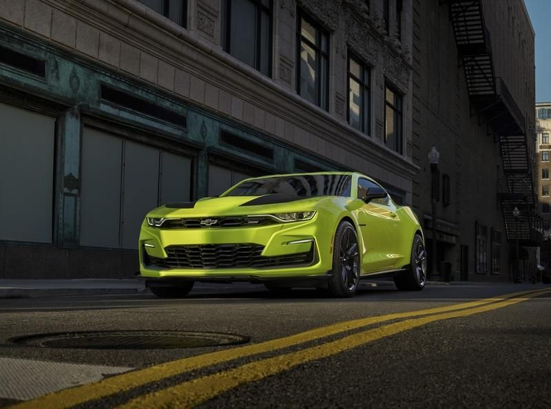 2019 Chevrolet Camaro Ss Shock Pictures Photos Wallpapers Car