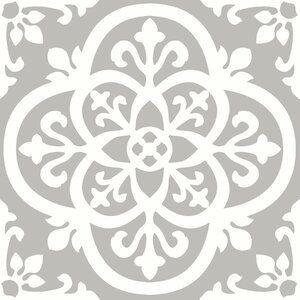 Symple Stuff Medina 30 48 X 30 48 Cm Vinyl Tile In Grey White Reviews Wayfair Co Uk In 2020 Peel And Stick Floor Vinyl Tile Self Adhesive Floor Tiles