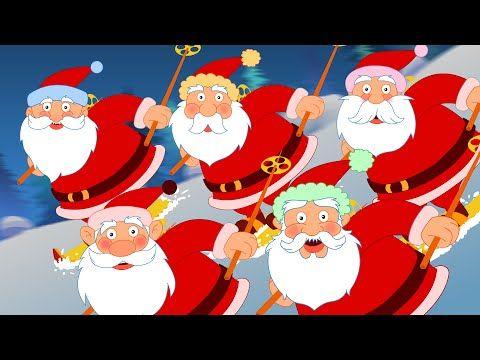 five fat santas five little santas christmas songs nursery rhymes youtube - Childrens Christmas Songs Youtube