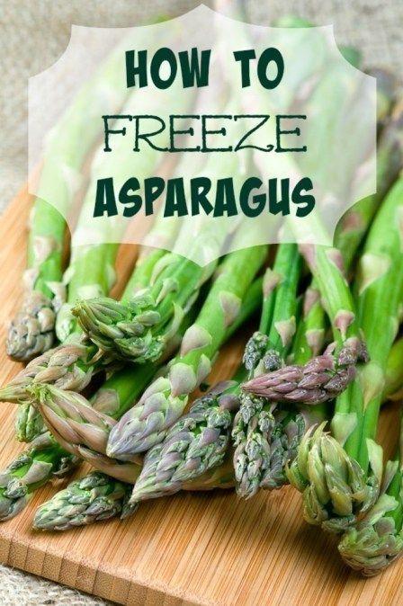How To Freeze Asparagus Freezing Asparagus Frozen Asparagus