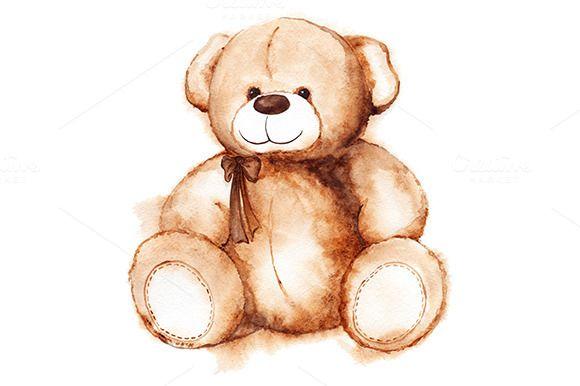 Cartoon Teddy Bear Toy Isolated Teddy Bear Drawing Teddy Bear Sketch Teddy Bear Tattoos