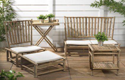 Du mobilier de jardin en bambou signé Casa