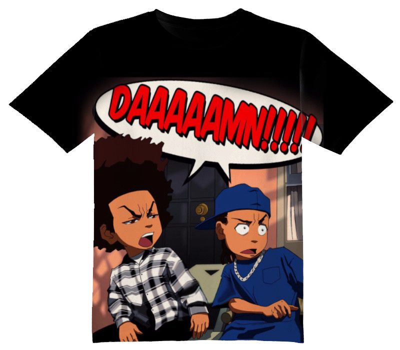 1be5a2999 Boondocks Friday Tee Shirt - OFFICIAL ShirtJunky™ - All Over Print Apparel