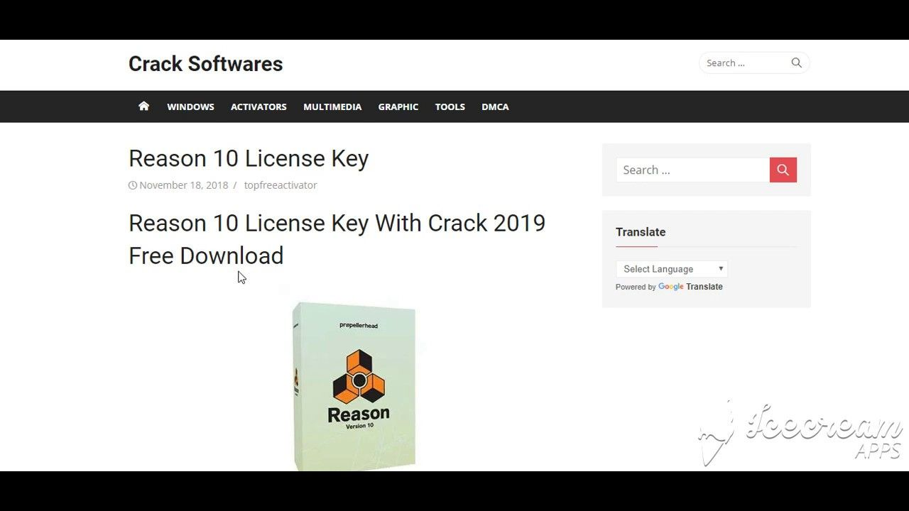 Reason 10 License Key With Crack 2019 Free Download | IObit