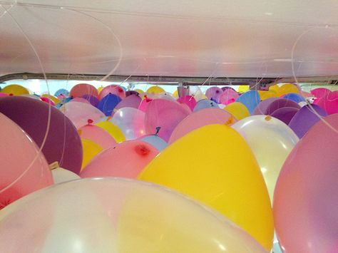 How to make a balloon ceiling - The Alison Show | Diy | Pinterest ...
