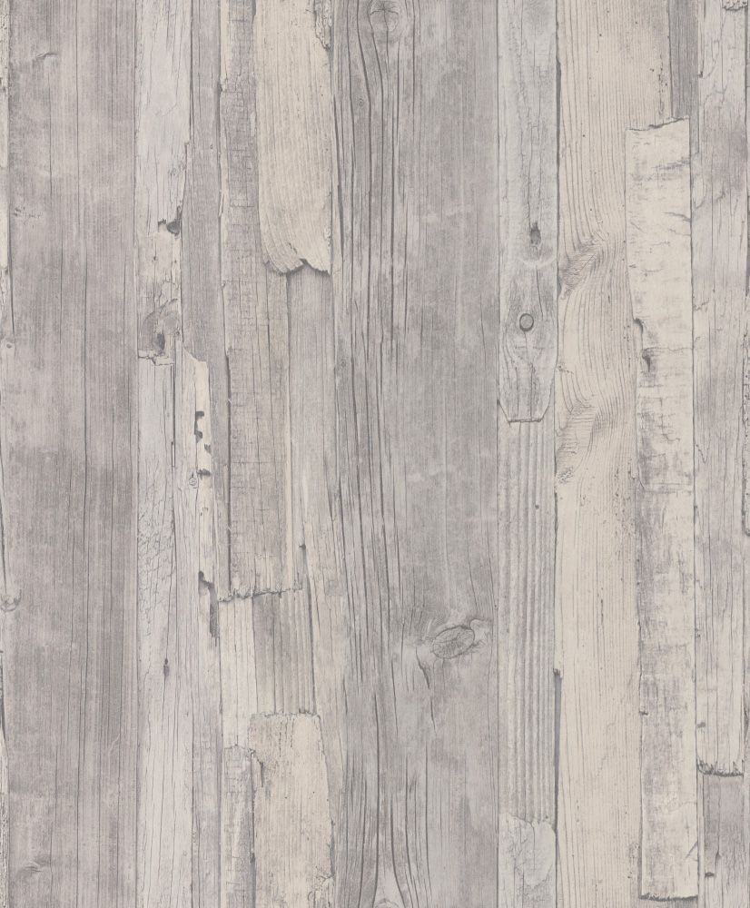 Distressed Wood by Albany Grey Wallpaper 954054